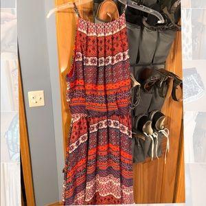 Lush high neck dress